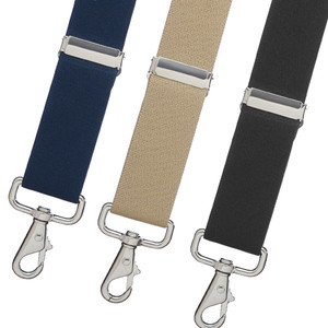 1.5 Inch Wide X-Back Trigger Snap Suspenders - All Colors