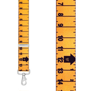 TAPE 1.5-Inch Wide Trigger Snap Suspenders - Front View