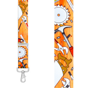 CARPENTER 1.5-Inch Wide Trigger Snap Suspenders - Front View