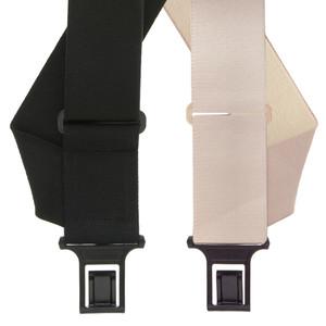Undergarment Suspenders - SIDE Belt Clip - Both Colors