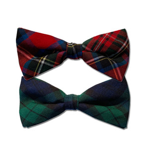Tartan Bow Ties - Both Colors