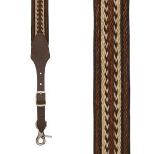 Skyweave Horsehair Suspenders - Front View