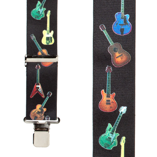 Guitar Suspenders - Front View