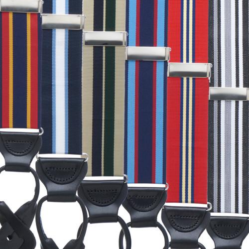 Grosgrain Button Suspenders