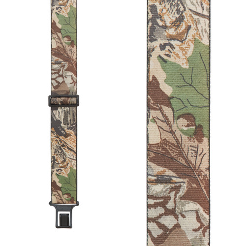 Perry Suspenders - Front View - Advantage Camo