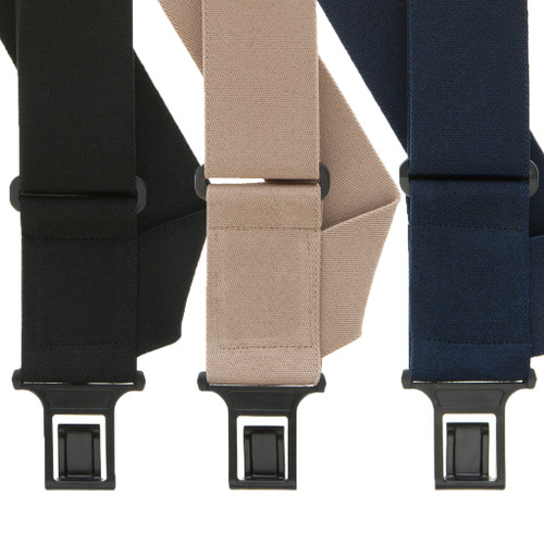 Perry Suspenders - Front View - Side Clip All Colors
