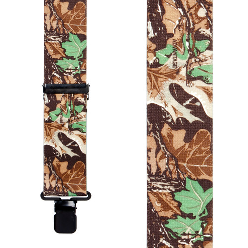 Advantage Camo Suspenders - Front View
