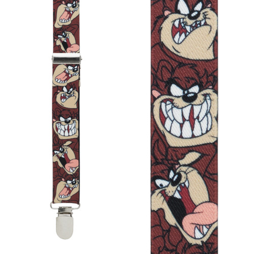 Tasmanian Devil Suspenders - Front View