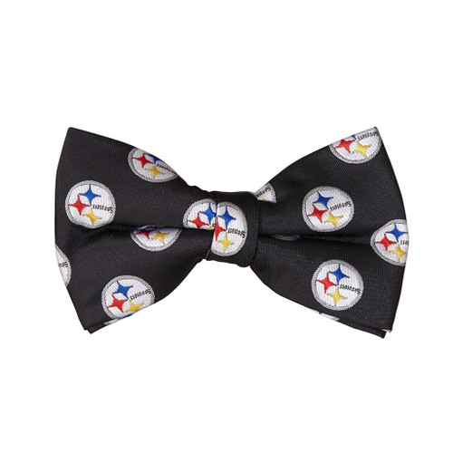 Pittsburgh STEELERS Bow Tie - Front View