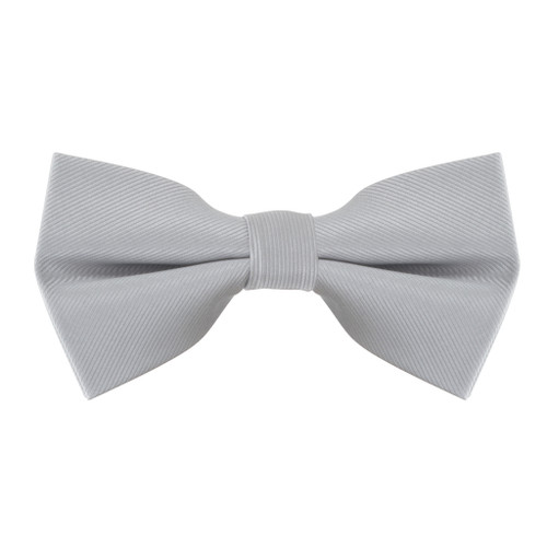 Bow Tie in Light Grey