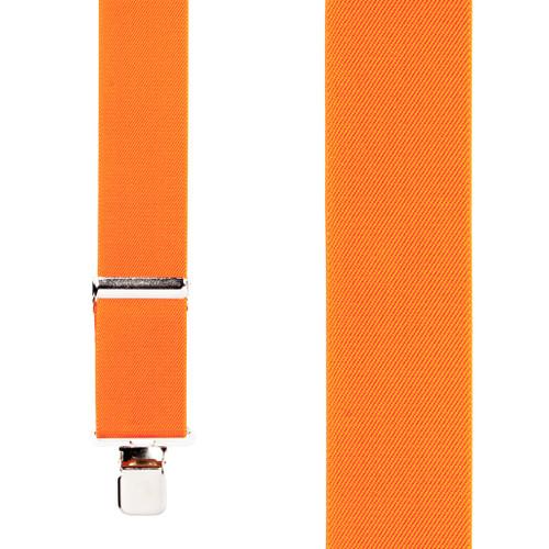 Classic Suspenders - Front View - Orange