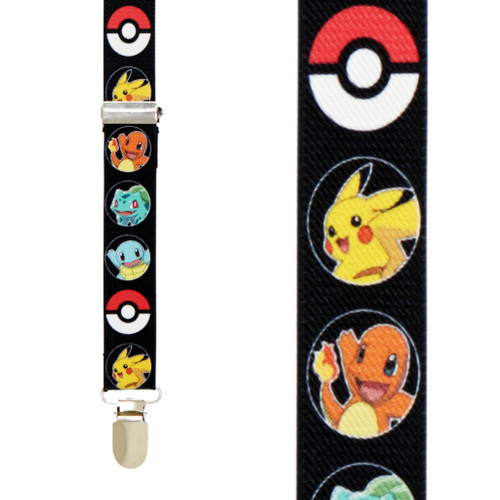 Pokemon Suspenders - All Designs