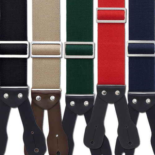 Logger Button Suspenders
