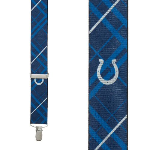 Indianapolis Colts Suspenders - Front View