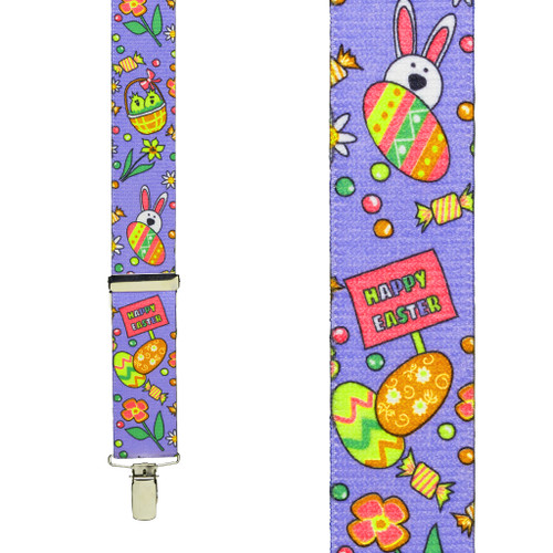 Easter Suspenders - Front View