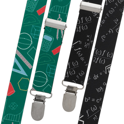 Math Suspenders - All Designs