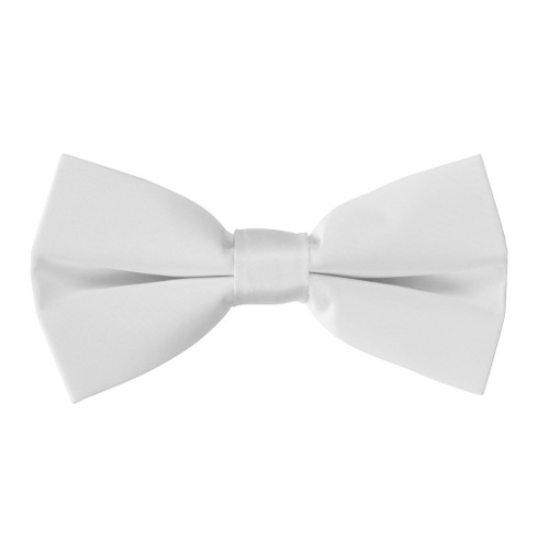 Bow Tie in White