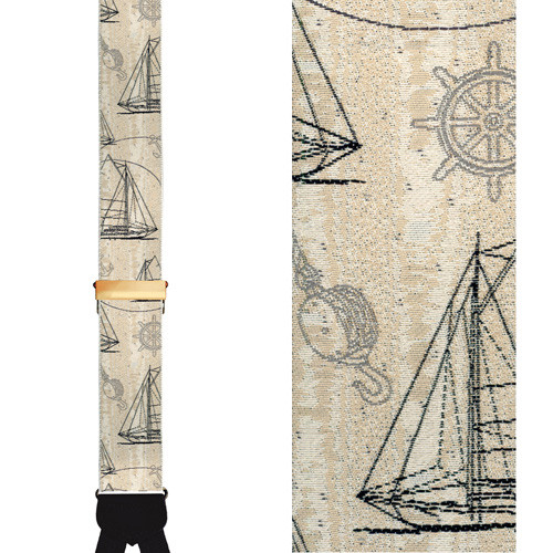 Nautical Dream Limited Edition Braces - Front View