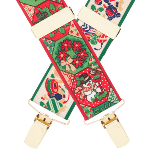 Christmas Suspenders - Front View