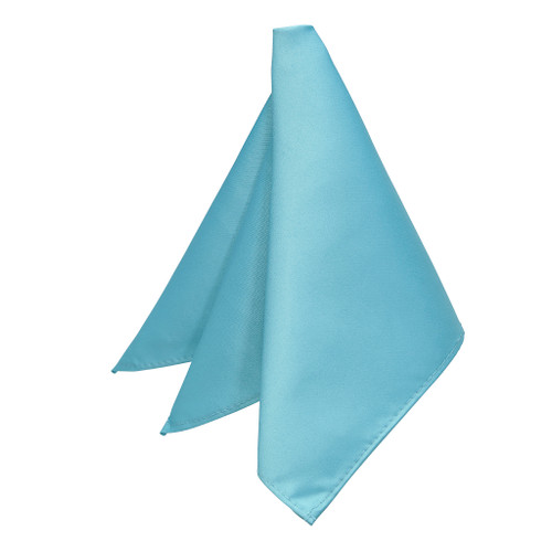Pocket Square - TURQUOISE - Full View