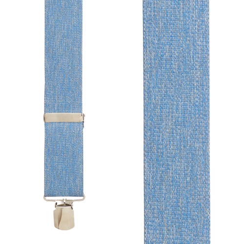Denim Suspenders - Front View