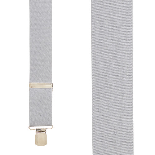 2-Inch Wide Pin Clip Suspenders - Front View