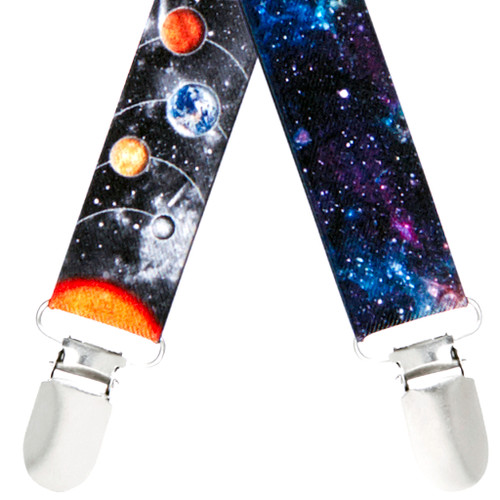 Outer Space Suspenders - All Designs