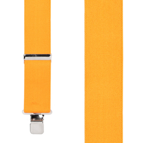 Fluorescent Safety Suspenders Front View