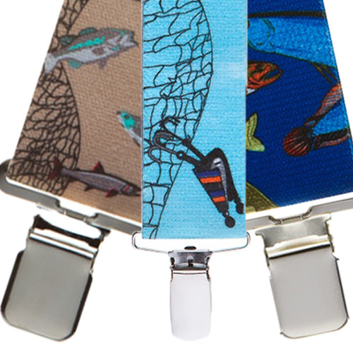 Fish Suspenders - All Designs