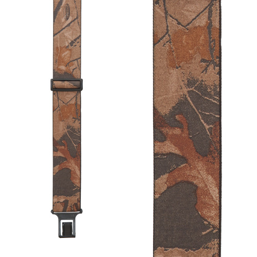 Perry Suspenders - Front View - Realtree Hardwood Camo