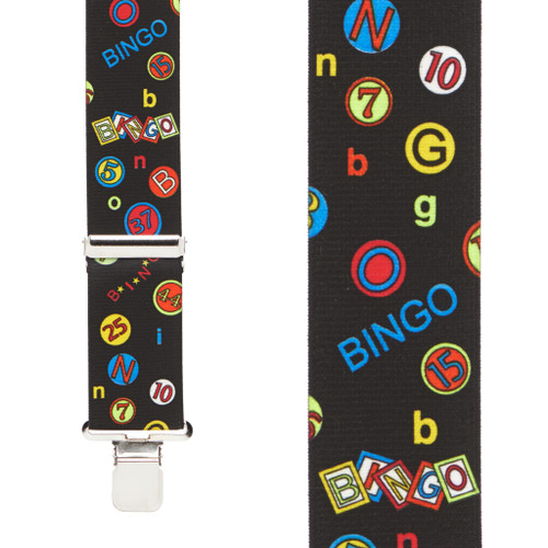 Bingo Suspenders - Front View