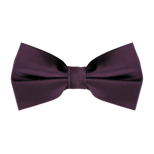 Bow Tie in Plum