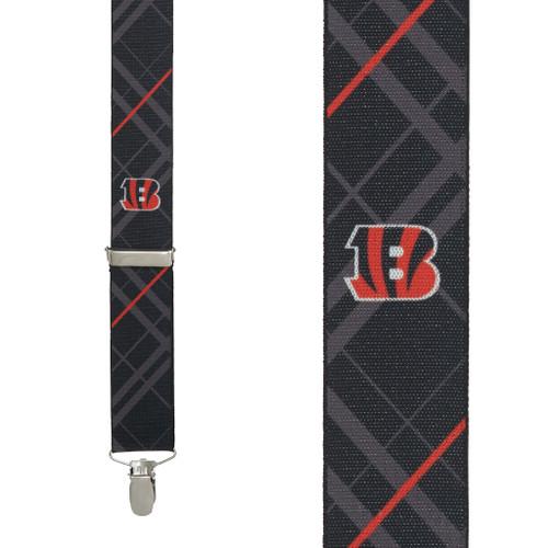 Cincinnati Bengals Suspenders - Front View