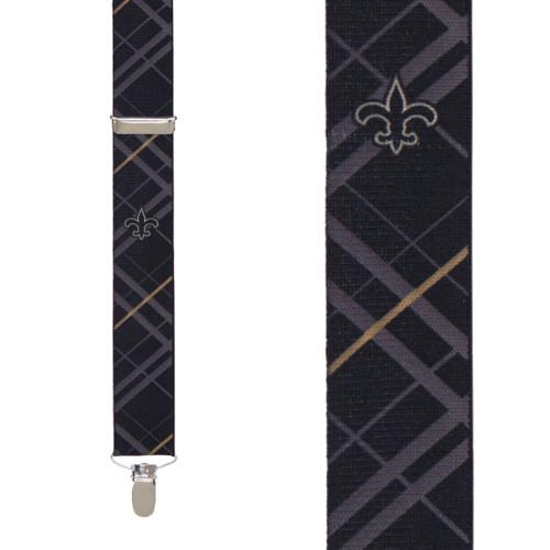 New Orleans Saints Suspenders - Front View