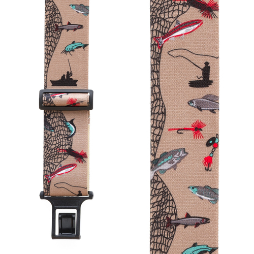 Perry Suspenders - Front View - Fisherman