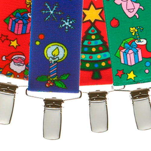Christmas Cheer Suspenders - All Designs