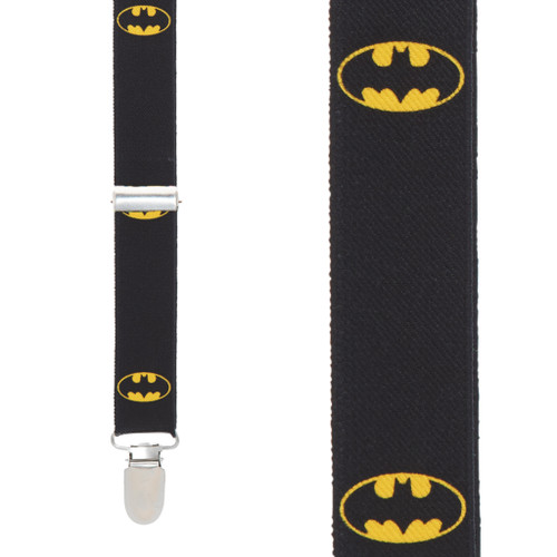 Batman Suspenders - Front View