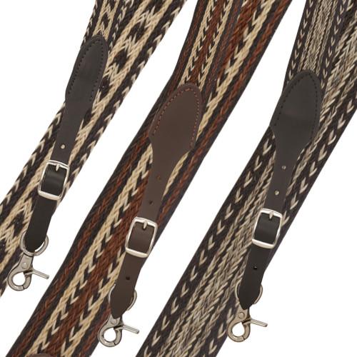 Horsehair Suspenders Front View