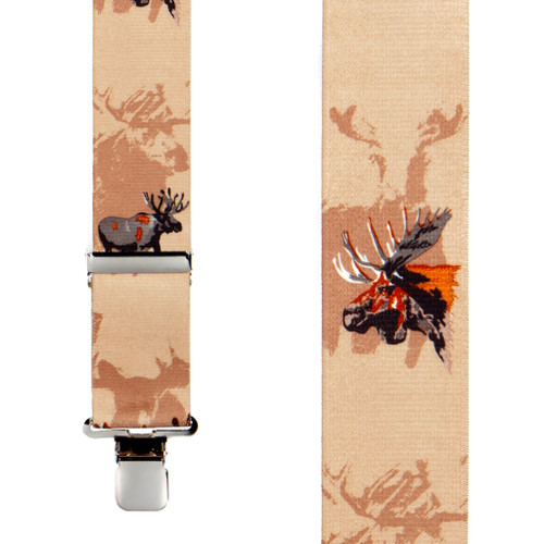 Moose Suspenders - Front View