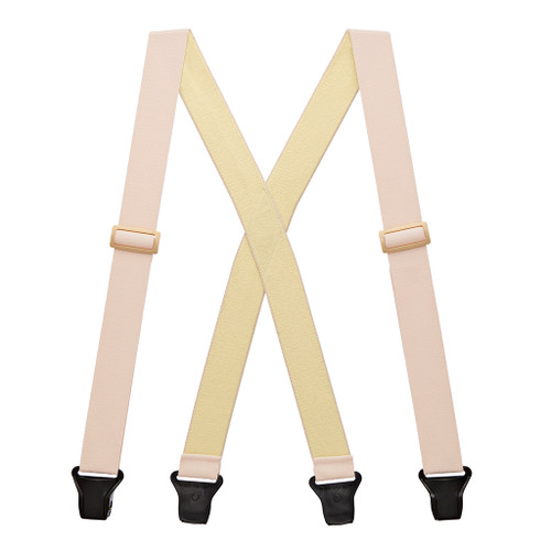 Undergarment Suspenders - BEIGE - Airport Friendly Full View