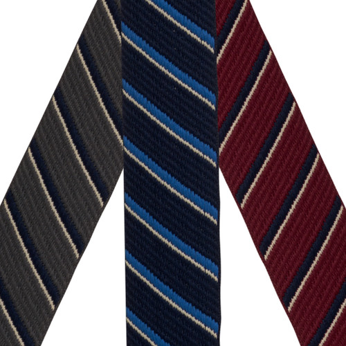 Tommy Hilfiger Diagonal Stripe Suspenders - Convertible All Colors