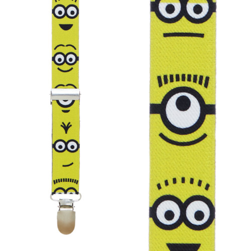 Minions Suspenders - Front View