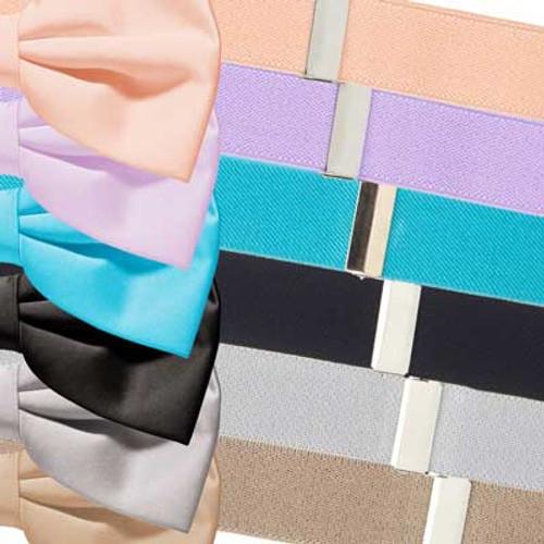 Bow Tie & Suspender Set - Various Colors