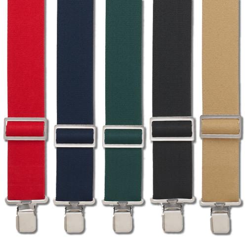 Logger Suspenders - Clip - All Colors
