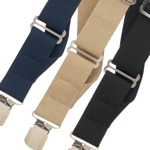 Side Clip Suspenders - All Colors