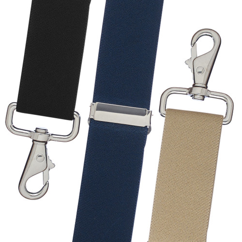 49030beeaeb Big   Tall Suspenders - 1.5 Inch Wide Solid Trigger Snap