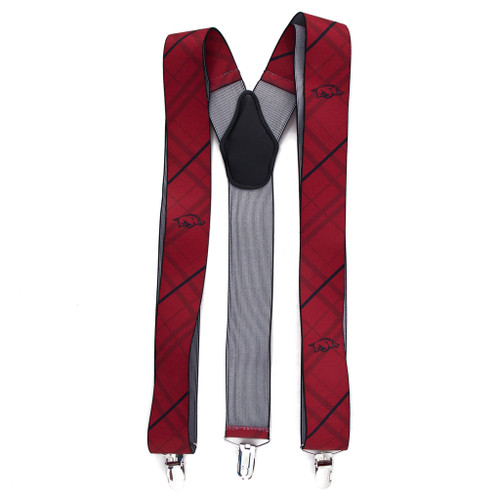University of Arkansas Suspenders - Full View