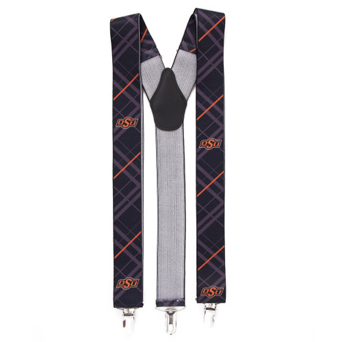Oklahoma State Suspenders - Full View