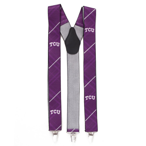College Suspenders - Texas Christian University - Front View