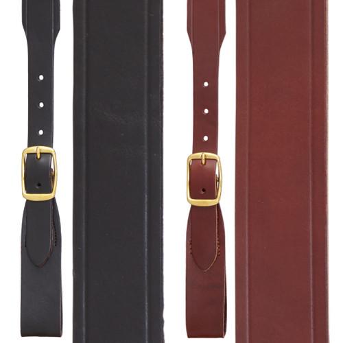Handcrafted Western Leather Suspenders Belt Loop - All Colors
